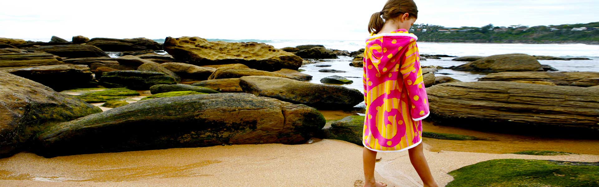 Adult and Kids Beach Robes. Why should dogs have all the fun? Humans get wet, cold and sandy too! Our beach robes wrap up the whole family and protect .