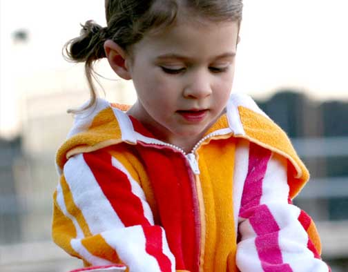 Childrens Beach Robes | Beach Robes and Swim Parkas | The ...